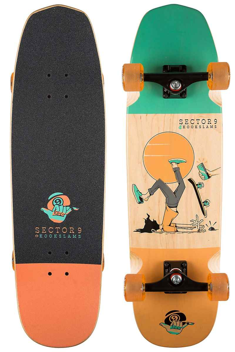"Sector 9 #Nosegrind 33"" Longboard completo"