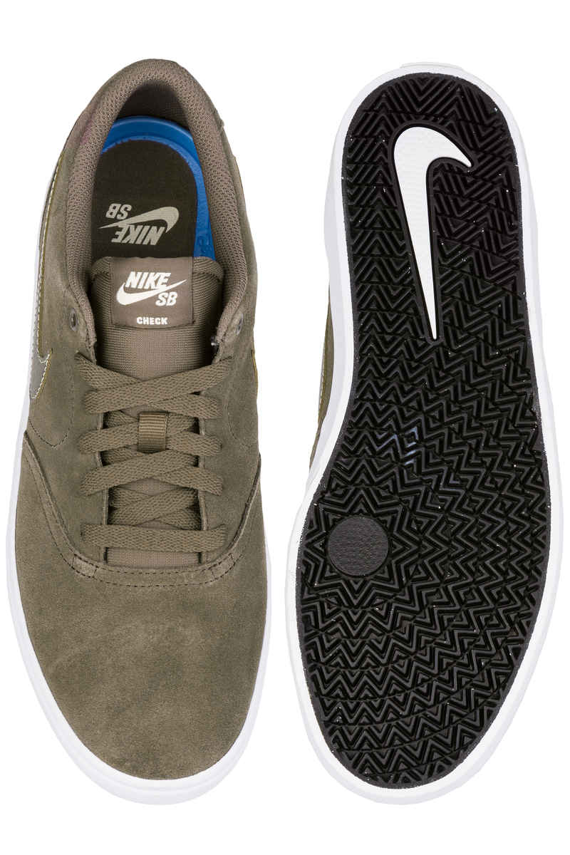 Nike SB Check Solarsoft Zapatilla (ridgerock white fossil)