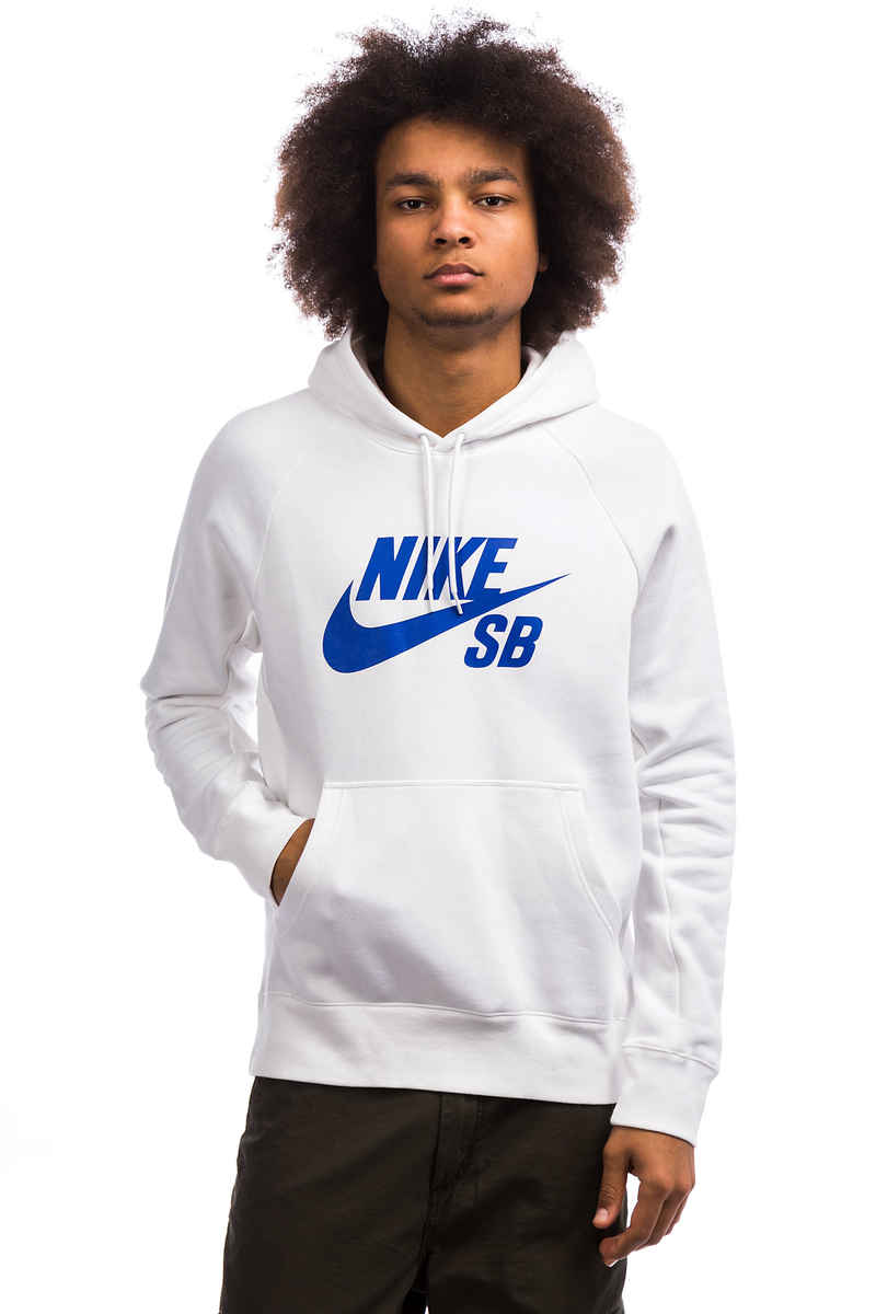 Nike SB Icon sweat à capuche (white hyper royal)