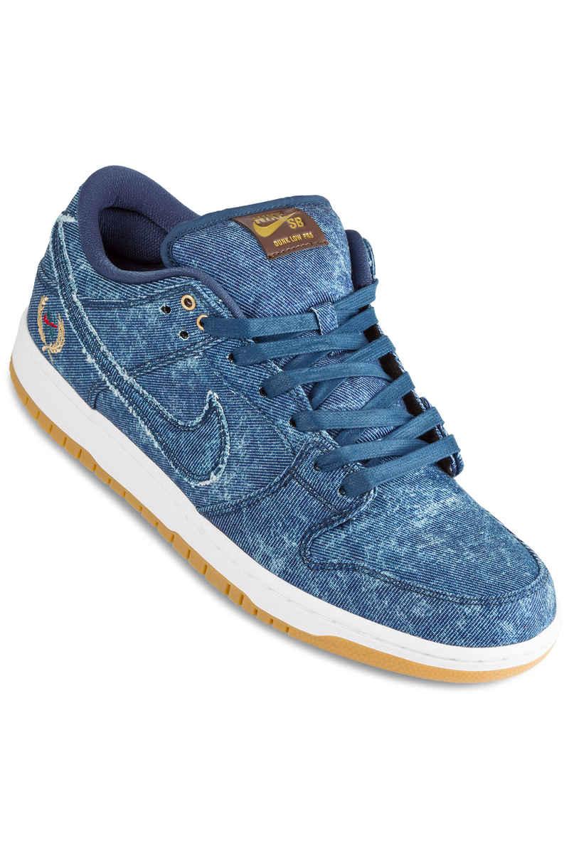 Nike SB Rivals Dunk Low QS Zapatilla (hydrogen blue white)