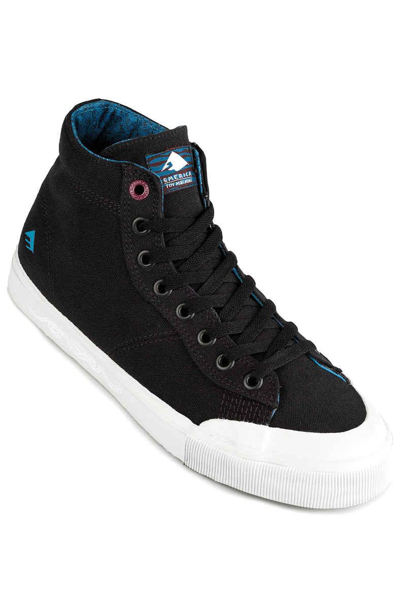 Emerica x Toy Machine Indicator High Shoes (black grey)