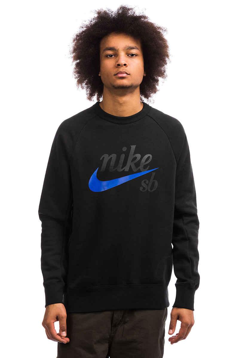 Nike SB Icon GFX Heritage Sweatshirt (black hyper royal)
