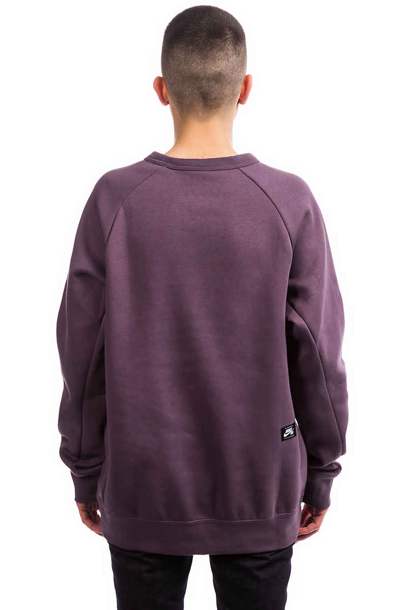 Nike SB Icon GFX Heritage Sweatshirt (pro purple white)