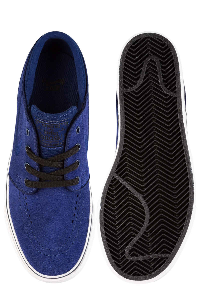 Nike SB Stefan Janoski Shoes kids (blue void summit white)