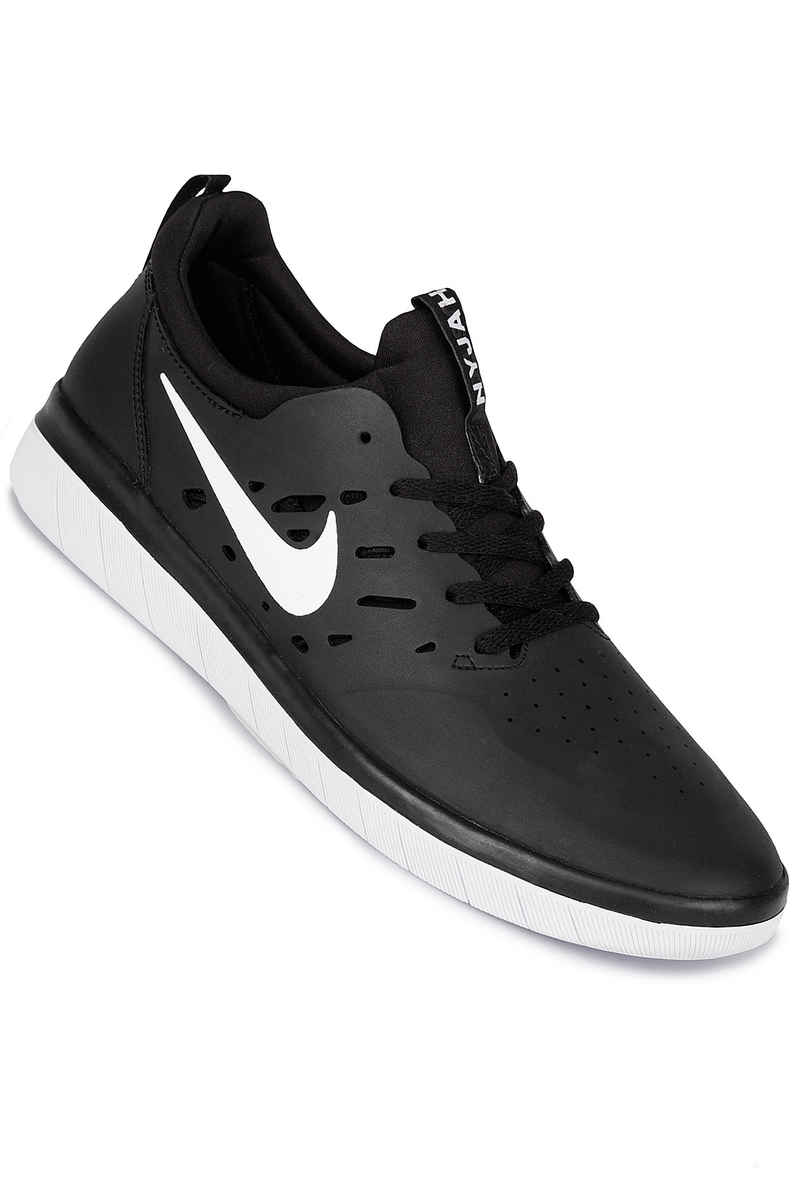 Nike SB Nyjah Free Shoes (black white)