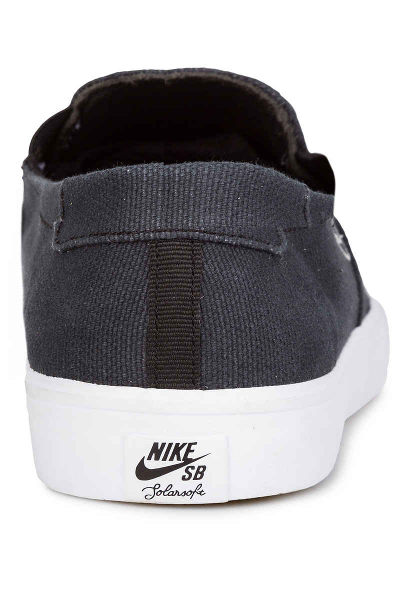 Nike SB Portmore II Solarsoft Slip Shoes (black black)