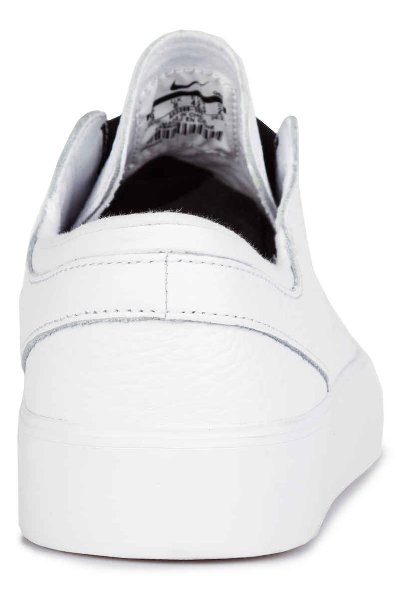 Nike SB Zoom Janoski HT Slip Shoes (white white black)