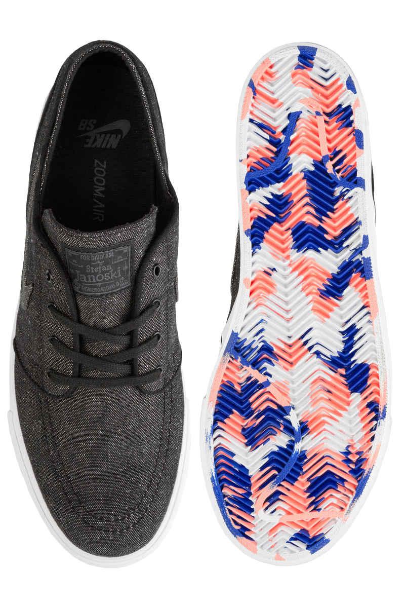Nike SB Zoom Stefan Janoski Canvas Deconstructed Shoes (black anthracite)