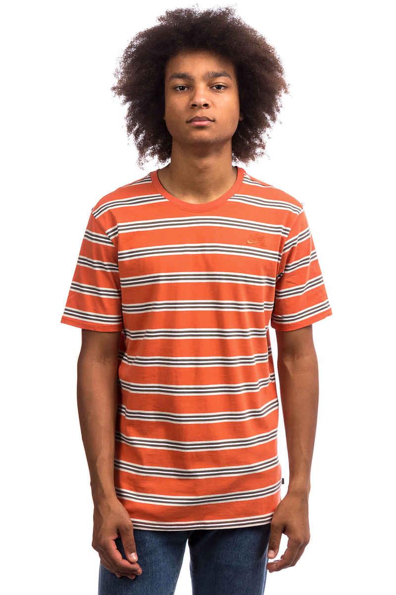 Nike SB Summer Stripe T-Shirt (vintage coral)