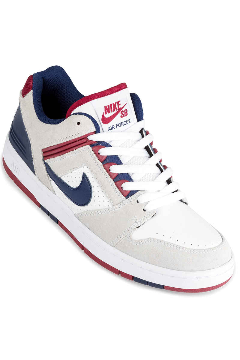 Nike SB Air Force II Low Zapatilla (white blue void)