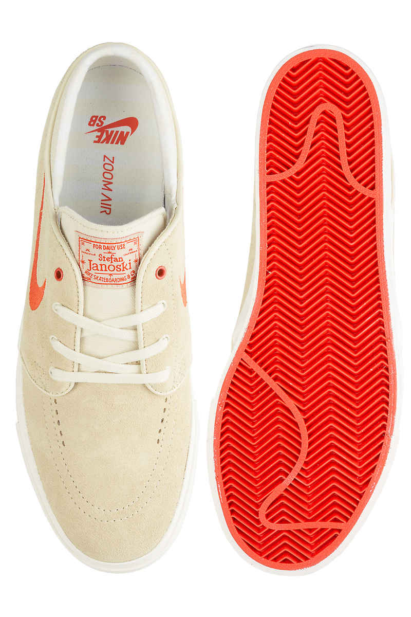 Nike SB Zoom Stefan Janoski Chaussure (fossil vintage coral)