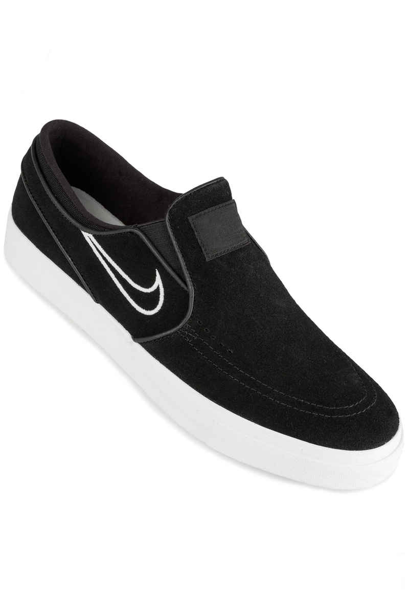 Nike SB Zoom Stefan Janoski Slip Shoes (black light bone)