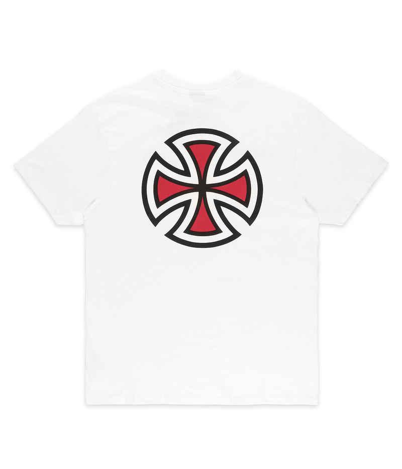 Independent Bar Cross T-Shirt (white)