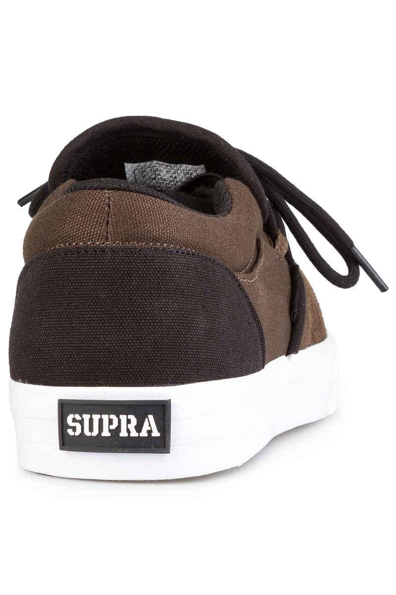 Supra Cuba Chaussure  (demitasse black white)