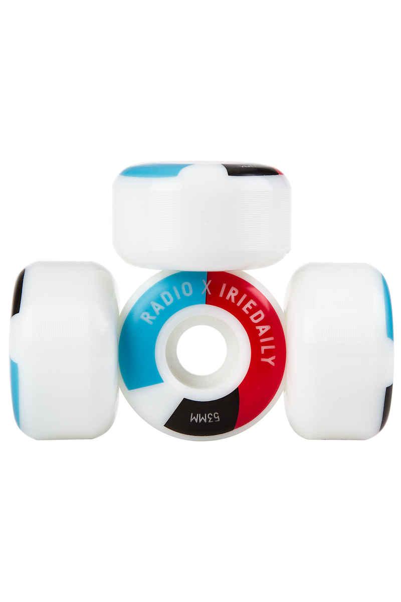 Iriedaily x Radio RXI Ruote 53mm 100A pacco da 4