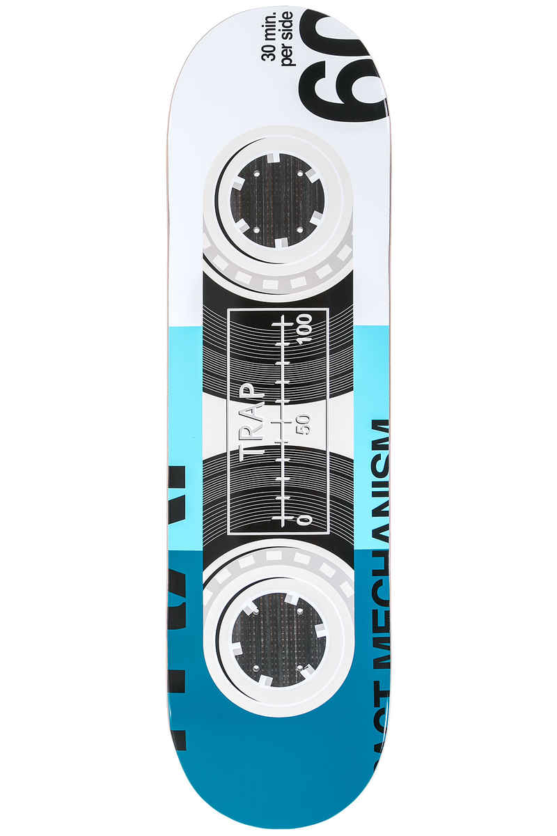 "Trap Skateboards Tape Series Impact 8.375"" Planche Skate (blue)"