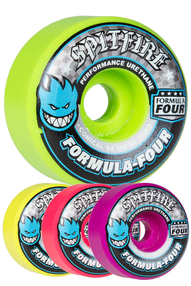 Spitfire Formula Four Razzle Mashup Conical 54mm Wiel (multi) 4 Pack