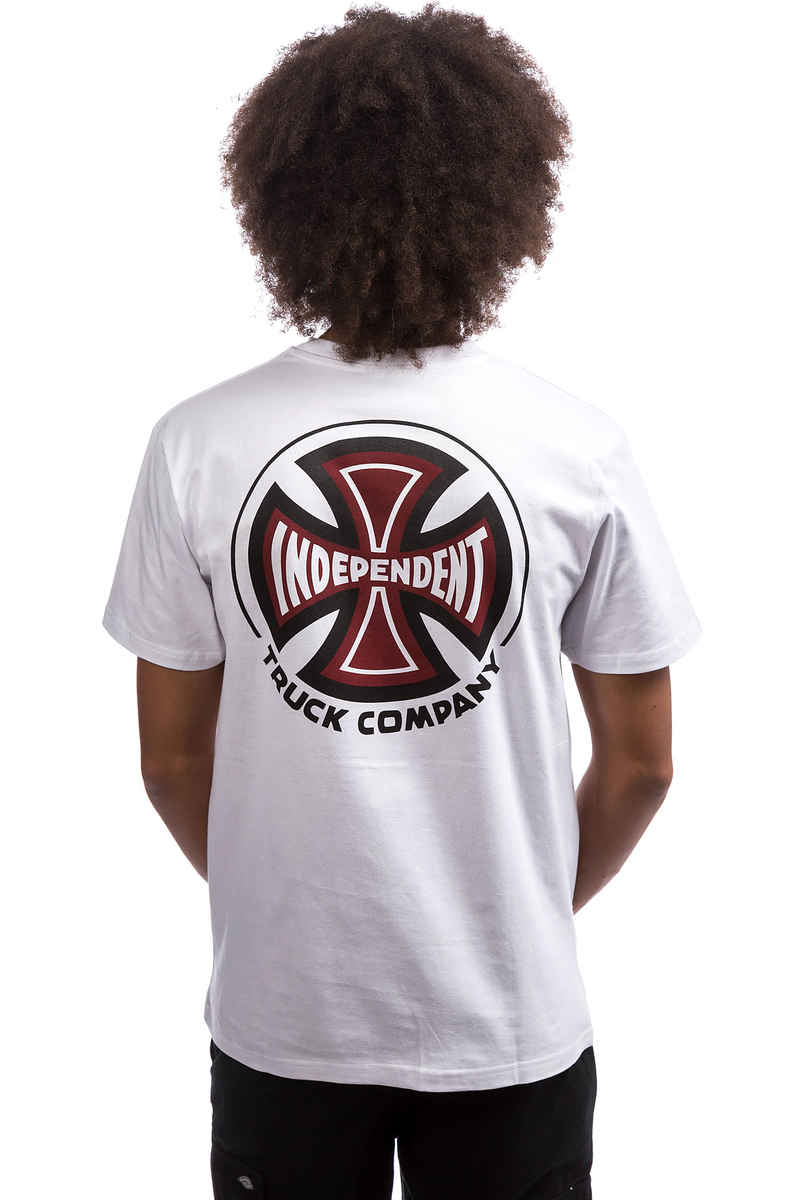 Independent 2 Colour TC T-Shirt (white)