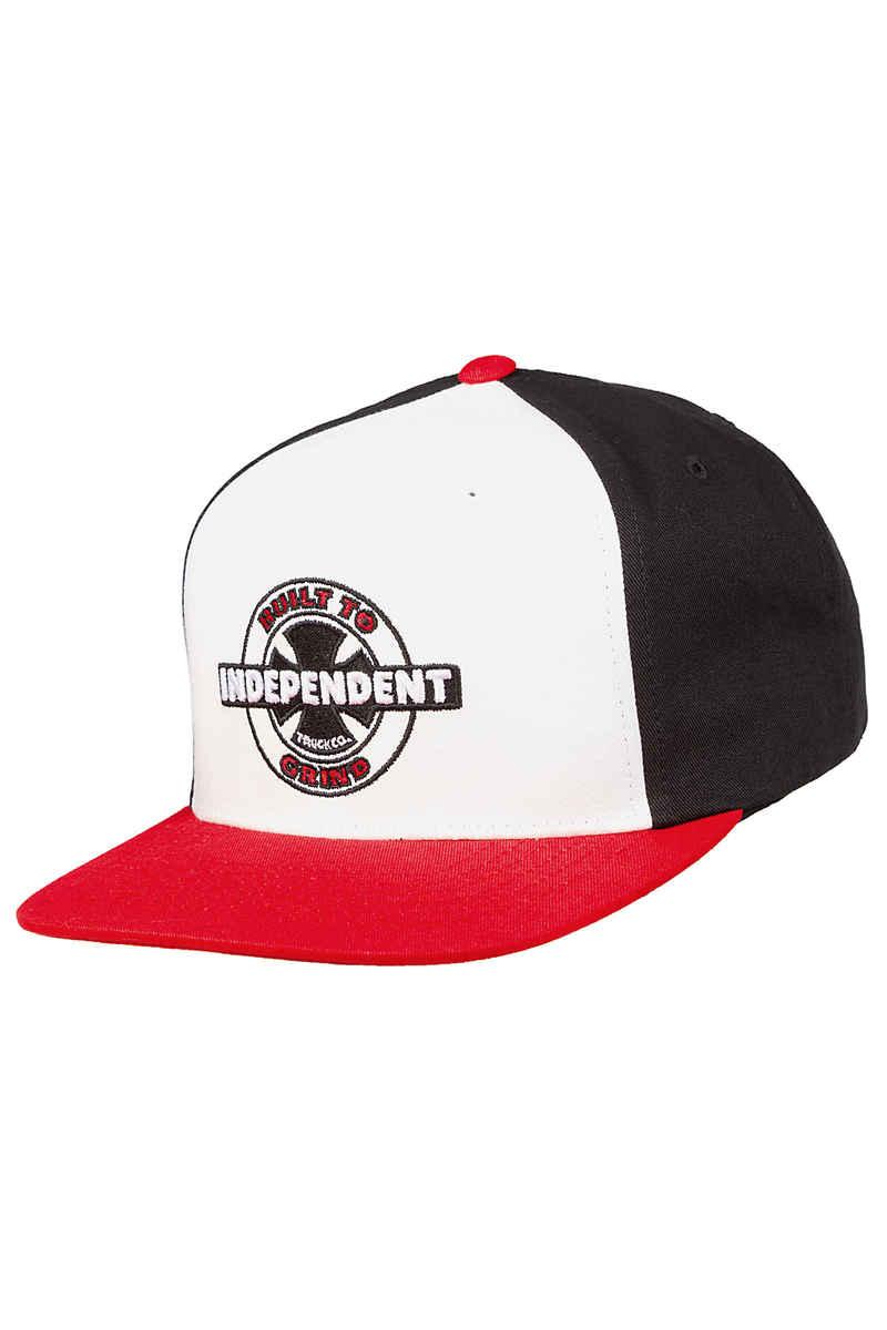 Independent 95 BTG Ring Snapback Cap (red black)