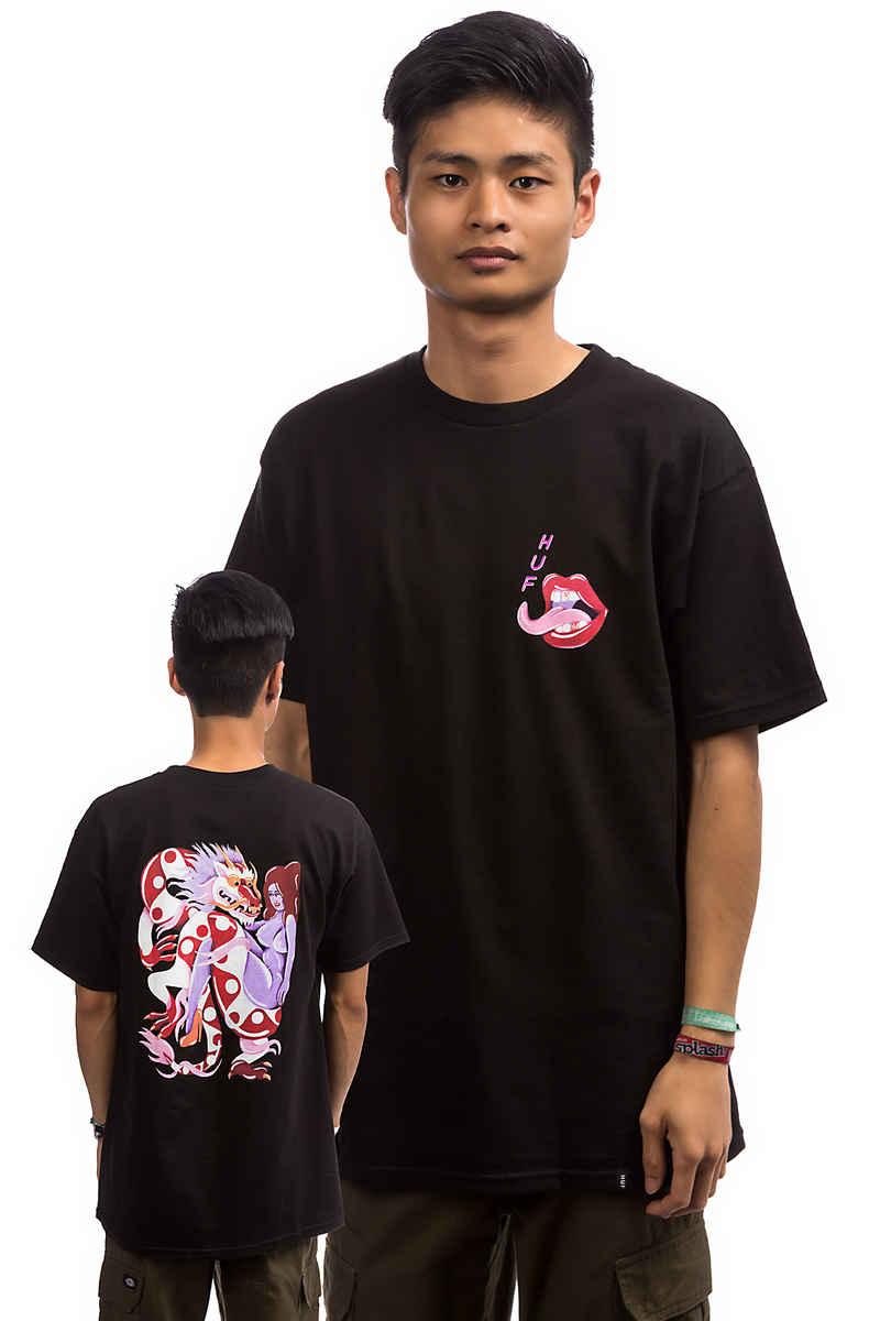 HUF Chloe K Dragon Camiseta (black)