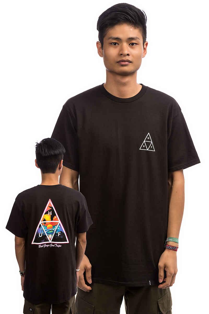 HUF Good Trips Triangle Camiseta (black)