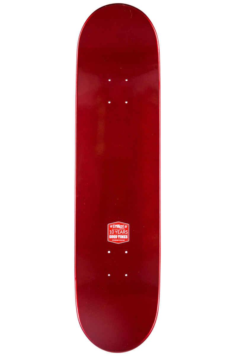 """EMillion Full Metal Dip 8"""" Planche Skate (red)"""