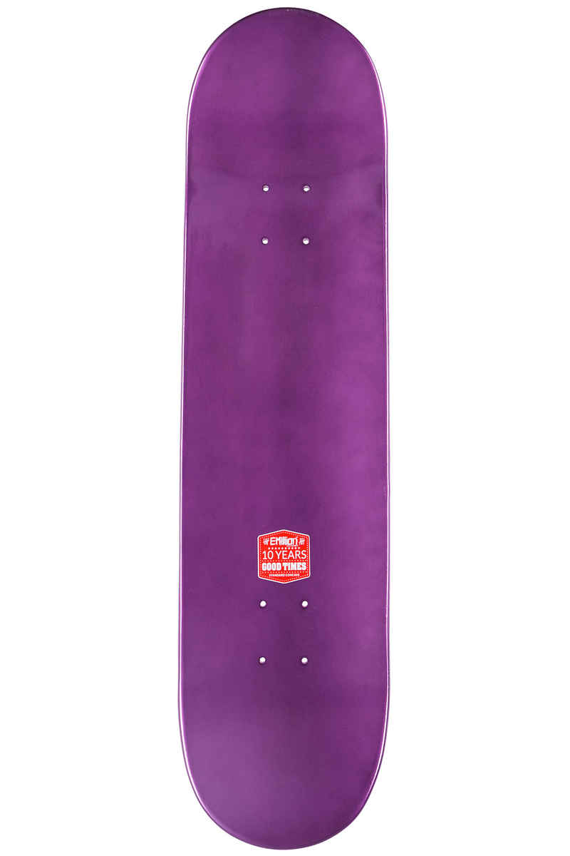 "EMillion Full Metal Dip 8.125"" Planche Skate (purple)"