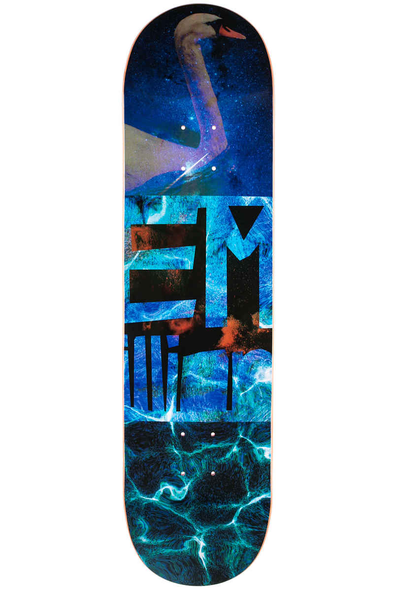 "EMillion Supernatural Swan 8.125"" Planche Skate (multi)"