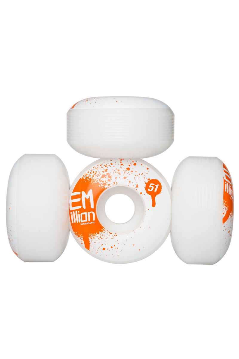 EMillion Tag Roue (white) 51mm 100A 4 Pack