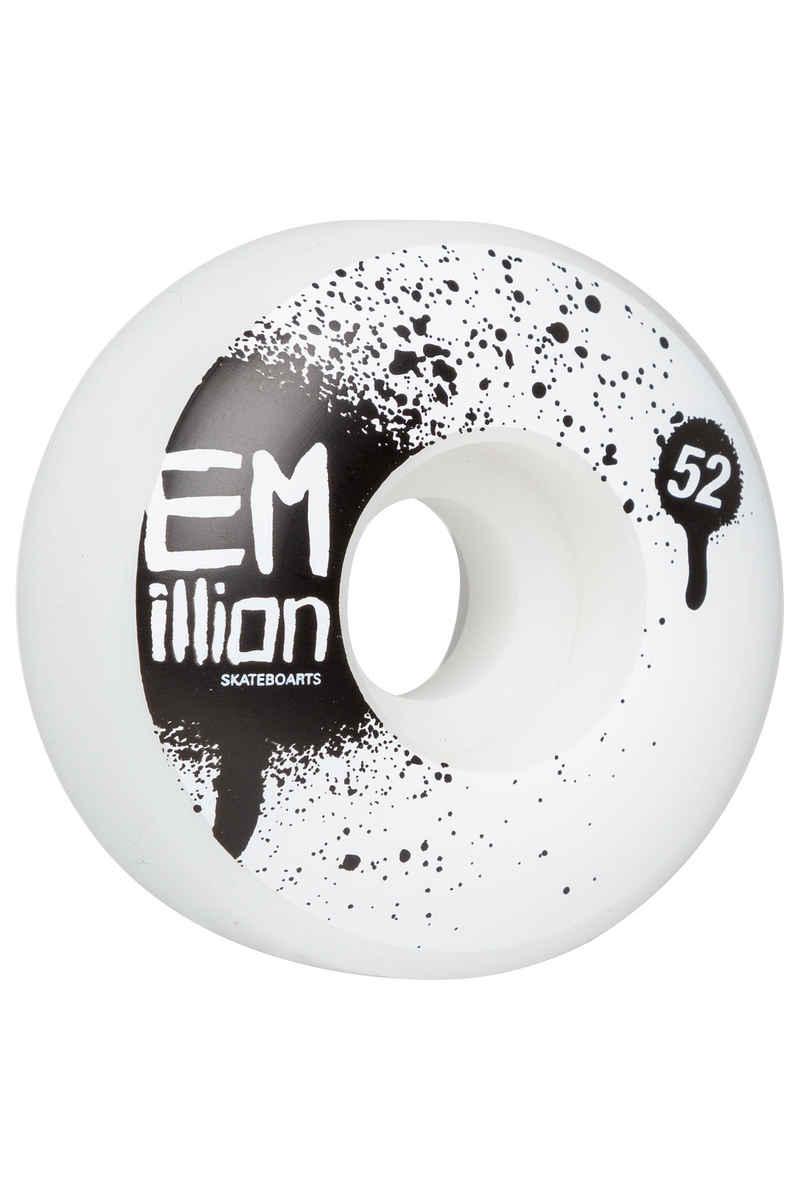 EMillion Tag 52mm Roue (white) 4 Pack