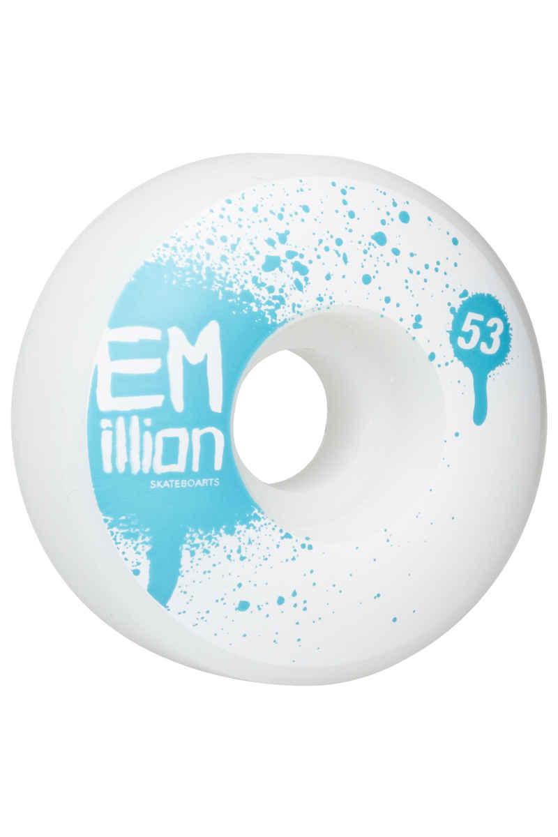 EMillion Tag Rollen (white) 53mm 100A 4er Pack