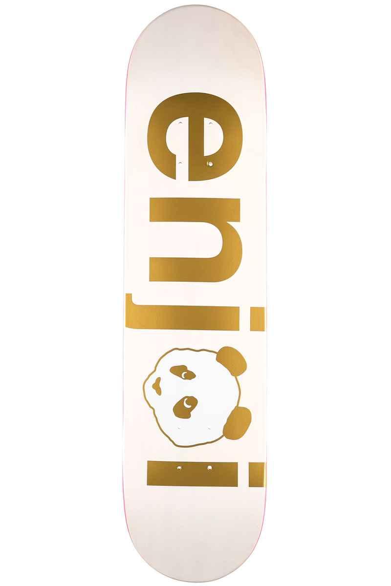 """Enjoi Team No Brainer 7.75"""" Deck (gold)"""