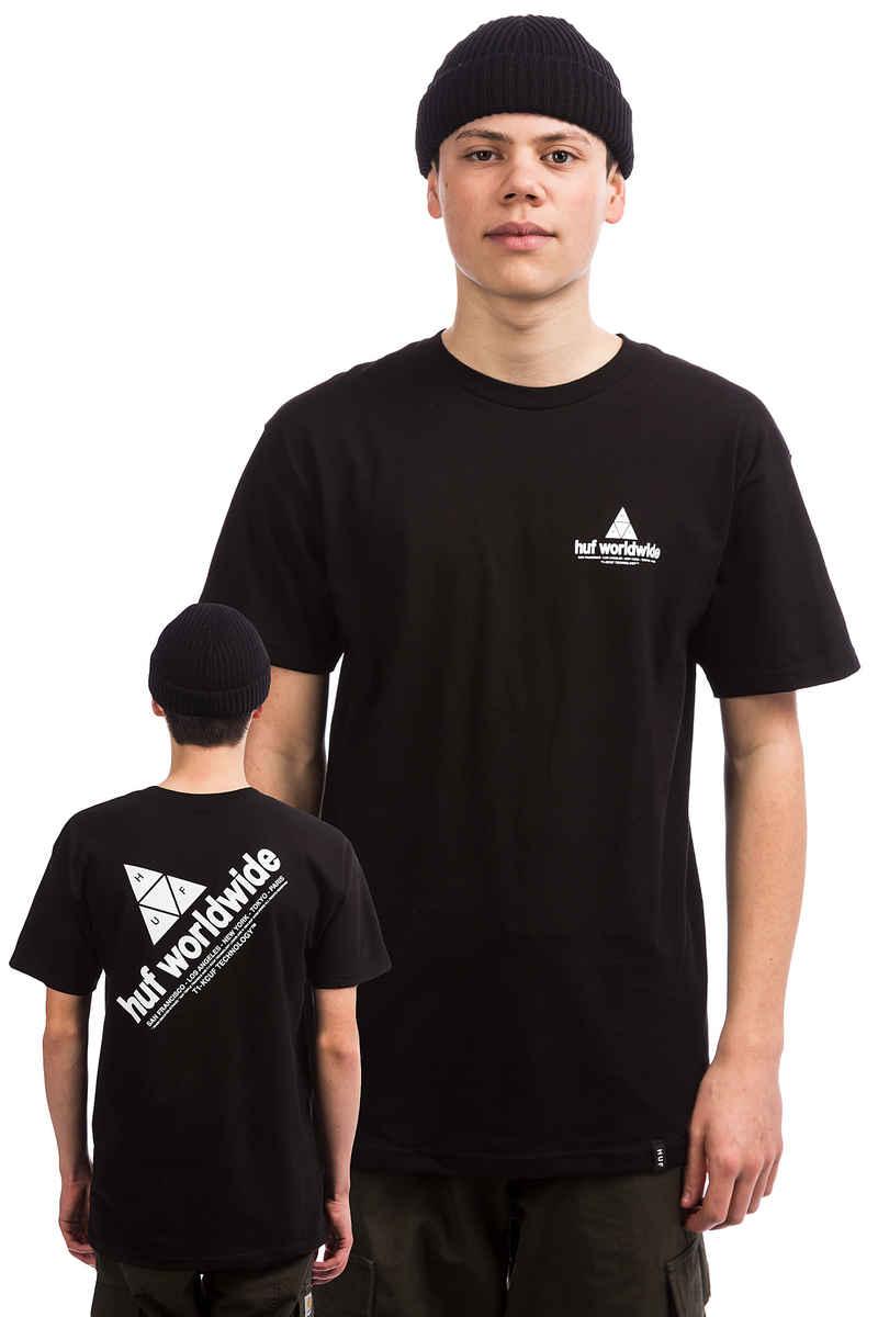 HUF Peak T-Shirt (black)