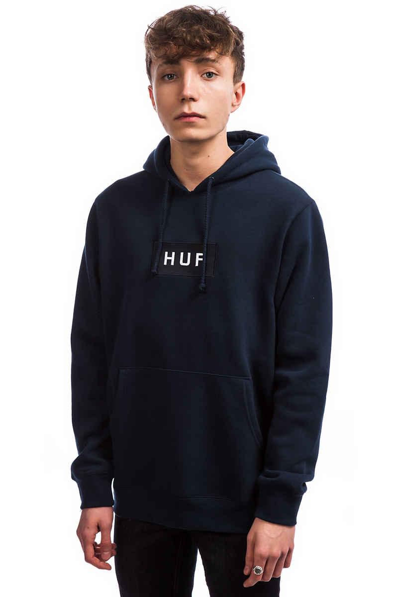 HUF Bar Logo Sudadera (navy)