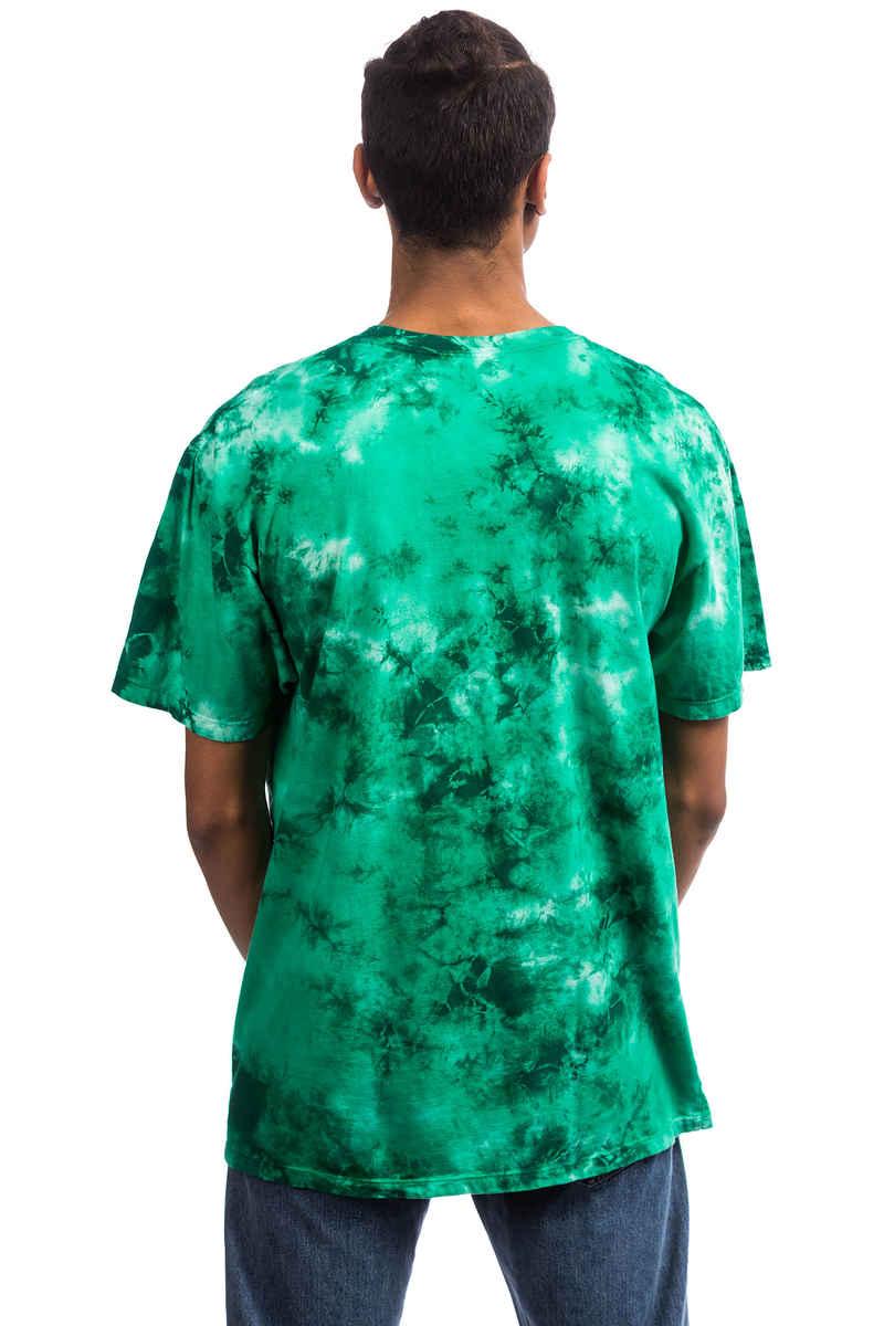 HUF OG Logo Tie Dye Camiseta (emerald)