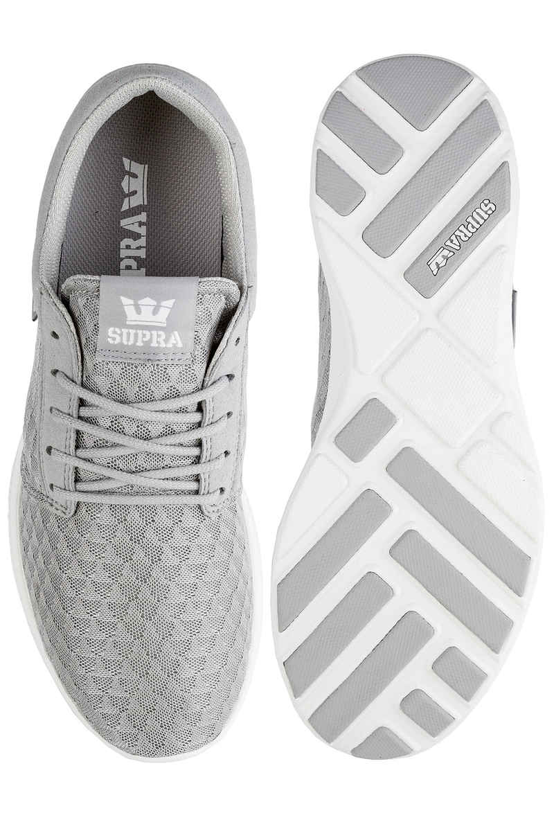 Supra Hammer Run Shoes (light grey white)