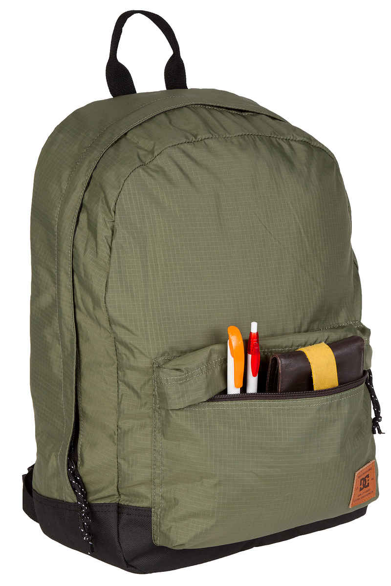 DC Backstack Fabric Rugzak 20L (vintage green)