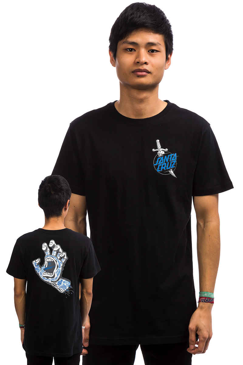 Santa Cruz Tattoo Hand T-Shirt (black)