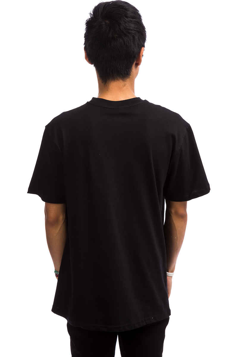 Santa Cruz Check Waste Dot T-Shirt (black)
