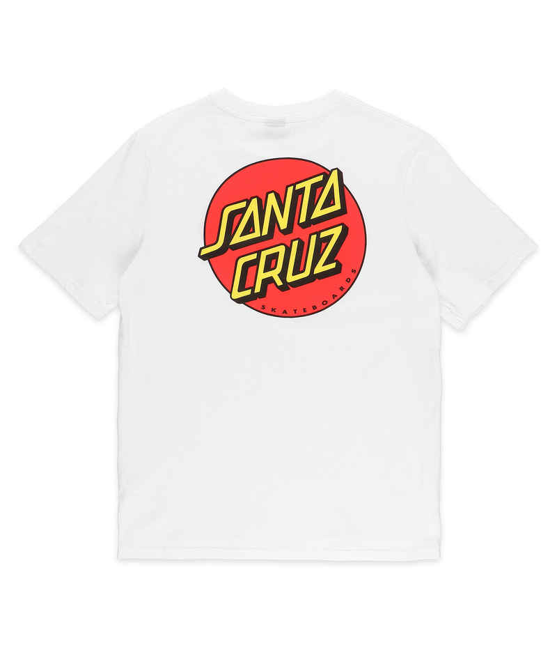 Santa Cruz Classic Dot T-Shirt women (white)