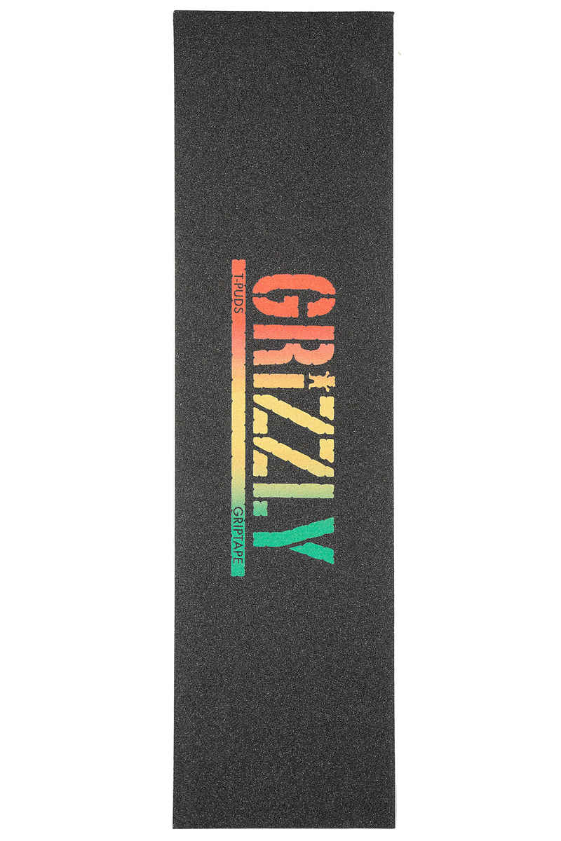 Grizzly T-Puds Rasta Stamp Grip adesivo