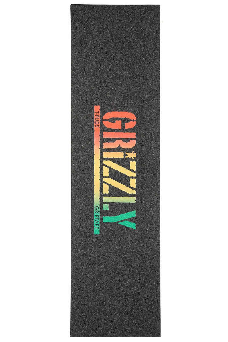 Grizzly T-Puds Rasta Stamp Grip Skate (rasta)