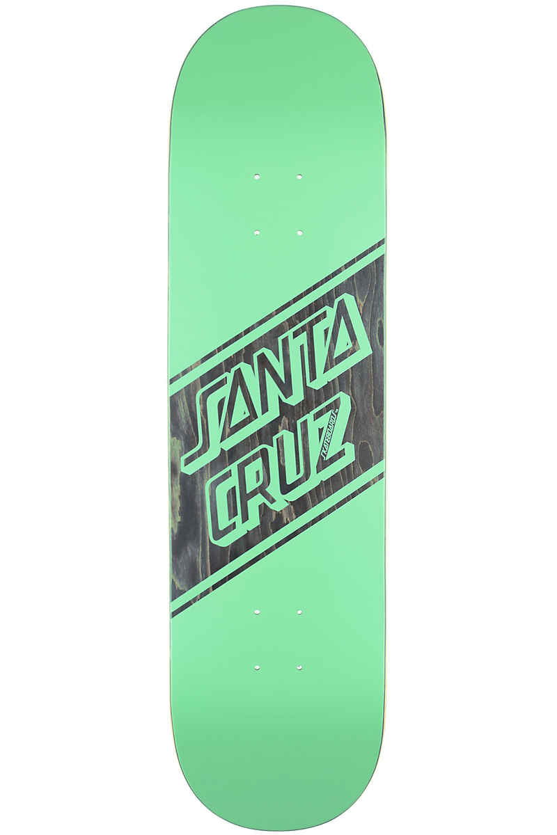 "Santa Cruz Street Skate Wide Tip 8.25"" Deck (green black)"