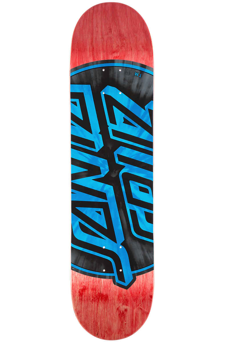 "Santa Cruz Warp Dot 8.25"" Deck (red blue)"