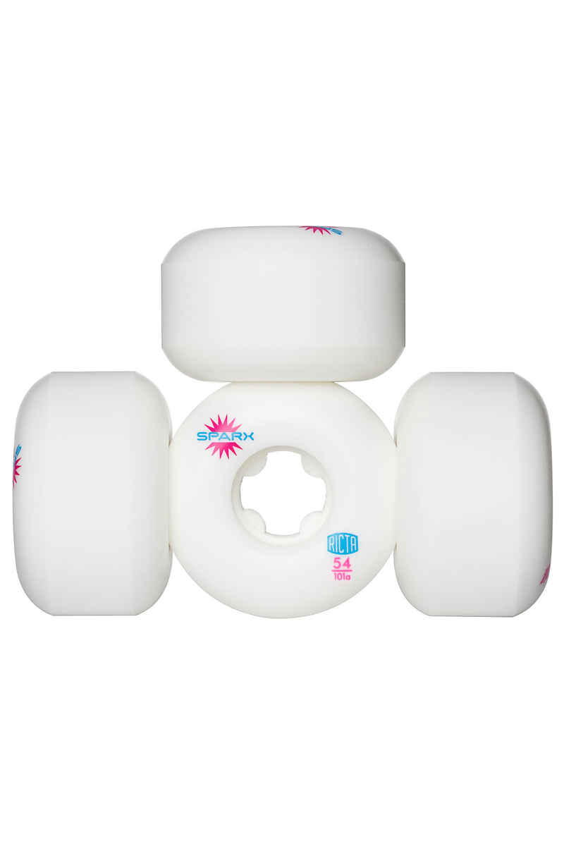 Ricta Sparx Rollen (white) 54mm 101A 4er Pack