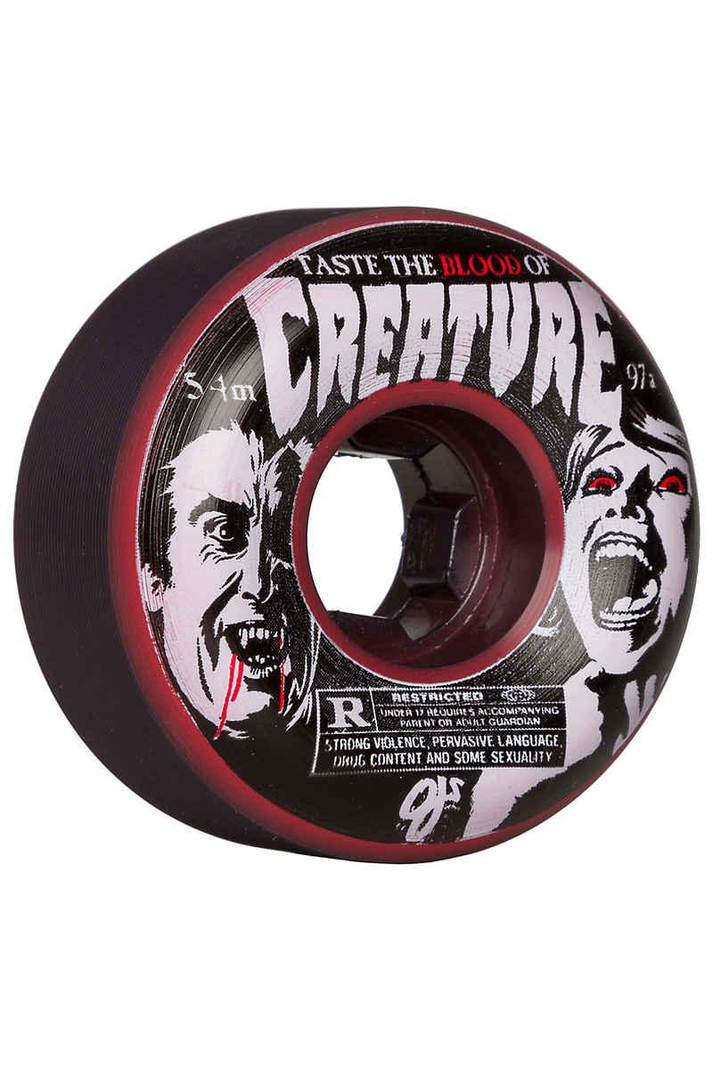 OJ Wheels x Creature Bloodsuckers Rollen (red) 54mm 97A 4er Pack