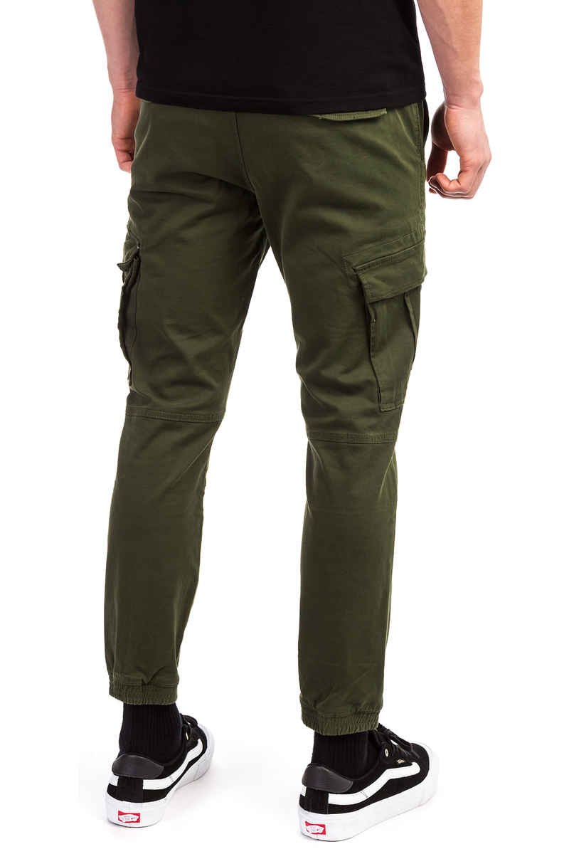 REELL Jogger Cargo Pants (olive)