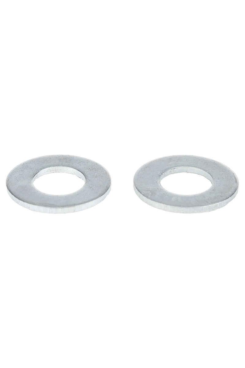 MOB Skateboards Upper Flatwasher (silver) 2 Pack