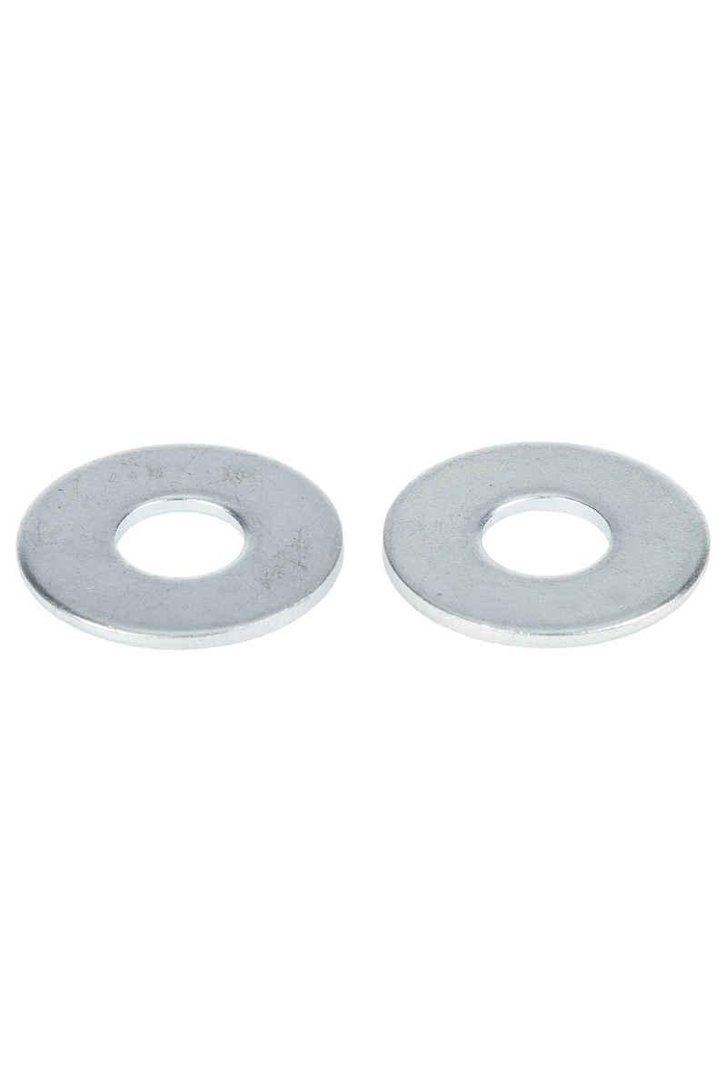 MOB Skateboards Lower Flatwasher (silver) 2er Pack