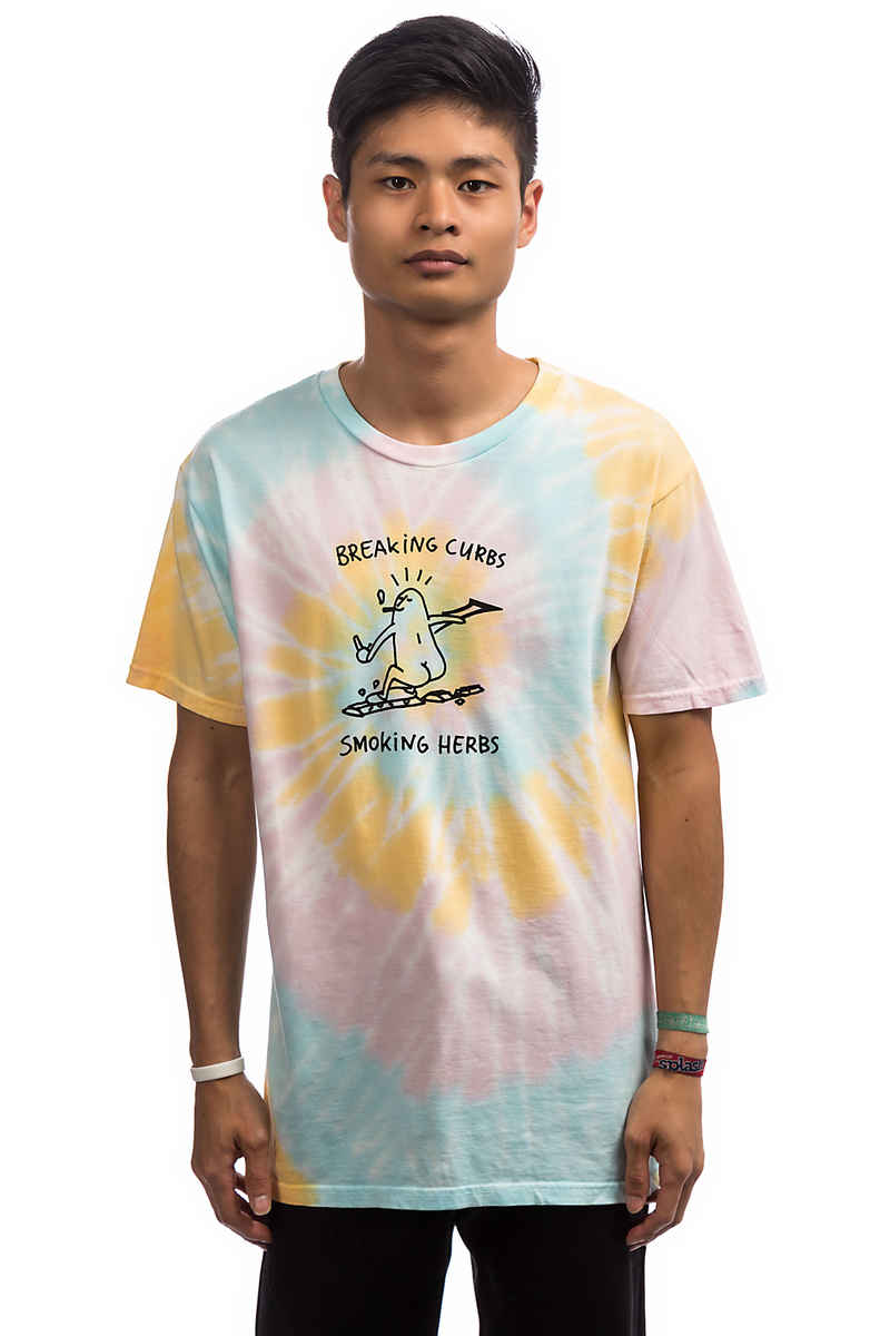 Lakai Breaking Curbs Camiseta (rainbow)